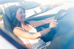 Female driver Royalty Free Stock Images