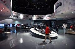Ferrari-Welt in Abu Dhabi UAE Lizenzfreie Stockfotos