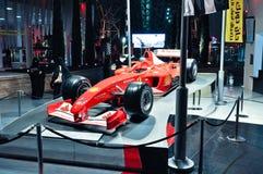 Ferrari-Welt in Abu Dhabi UAE Lizenzfreies Stockbild