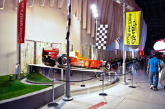Ferrari-Welt in Abu Dhabi UAE Lizenzfreie Stockfotografie