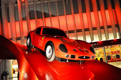 Ferrari-Welt in Abu Dhabi UAE Stockbild