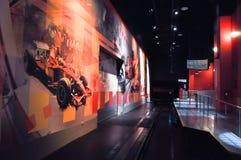 Ferrari-Welt in Abu Dhabi UAE Stockfotos