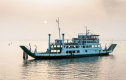 Ferry boat in Venice Royalty Free Stock Photography