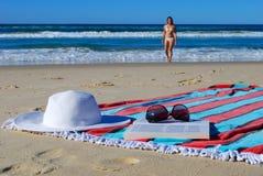 Festa della spiaggia Immagine Stock Libera da Diritti