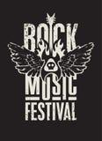 Festival de musique rock Image stock