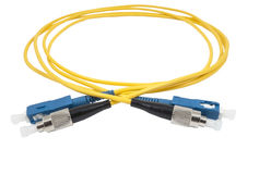 Fiber optic cable Royalty Free Stock Photography
