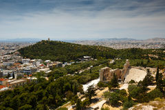 Filopappos  Hill. Royalty Free Stock Photography