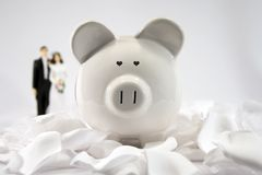 Financial Future - Marriage Royalty Free Stock Photo