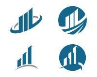 Finanzlogo Stockfotos