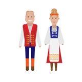 Finnish national costume Royalty Free Stock Photo