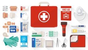 First aid kit Stock Photos