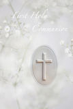 First Communion Royalty Free Stock Photos