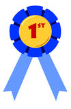 First Placing Ribbon Royalty Free Stock Photography