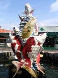 Fish Fountain Royalty Free Stock Photos