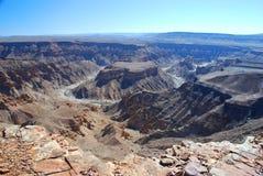 Fish River Canyon. South Namibia Stock Photos