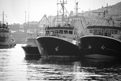 Fishing harbor Stock Photos