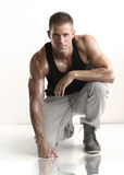 Fit young male Stock Photos