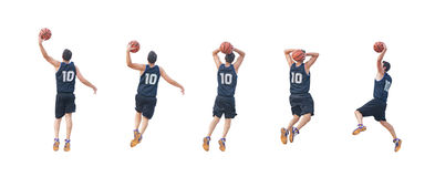 Five players Royalty Free Stock Image