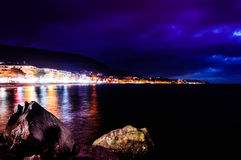 Flamboyant Isle Nightfall Stock Image