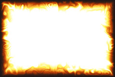 Flame Border Stock Images