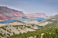 Flaming Gorge National recreation area and the Green river, Utah Royalty Free Stock Photography