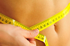 Flat belly Royalty Free Stock Image