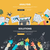 Flat design illustration concepts for business Stock Photography