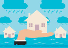 Flood Protection Royalty Free Stock Images