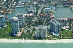 Florida Coastal real eastate Royalty Free Stock Images