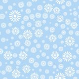 Flower seamless pattern background Stock Photo
