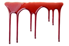 Flowing Blood Royalty Free Stock Images