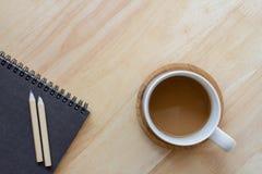 Foggi a coppa il caffè Immagini Stock Libere da Diritti