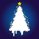 Fond de carte de Noël Photographie stock libre de droits