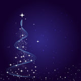Fond de carte de Noël Photo libre de droits