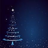 Fond de carte de Noël Image stock