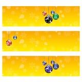Fond de carte de Noël Photos stock