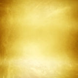 Fondo di struttura del metallo dell'oro Fotografia Stock Libera da Diritti