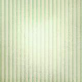 Fondo a strisce verde e beige pastello d'annata Fotografia Stock Libera da Diritti