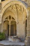 Fontana nella chiesa del convento Fotografia Stock