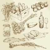Food collection Royalty Free Stock Image