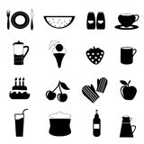 Food drink icon Stock Photos