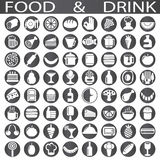 Food and drink icon Royalty Free Stock Photos