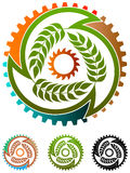 Food industry logo Royalty Free Stock Images