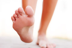 Foot outside Royalty Free Stock Photos