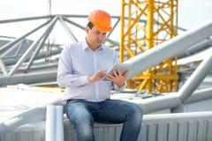 A foreman at the construction Stock Photos