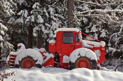 Forest vehicle Royalty Free Stock Photos