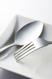Fork And Spoon Royalty Free Stock Images