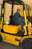 Forklift Driver Royalty Free Stock Images