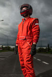 Formula one driver Royalty Free Stock Photos