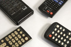 Four remote corners Stock Photos